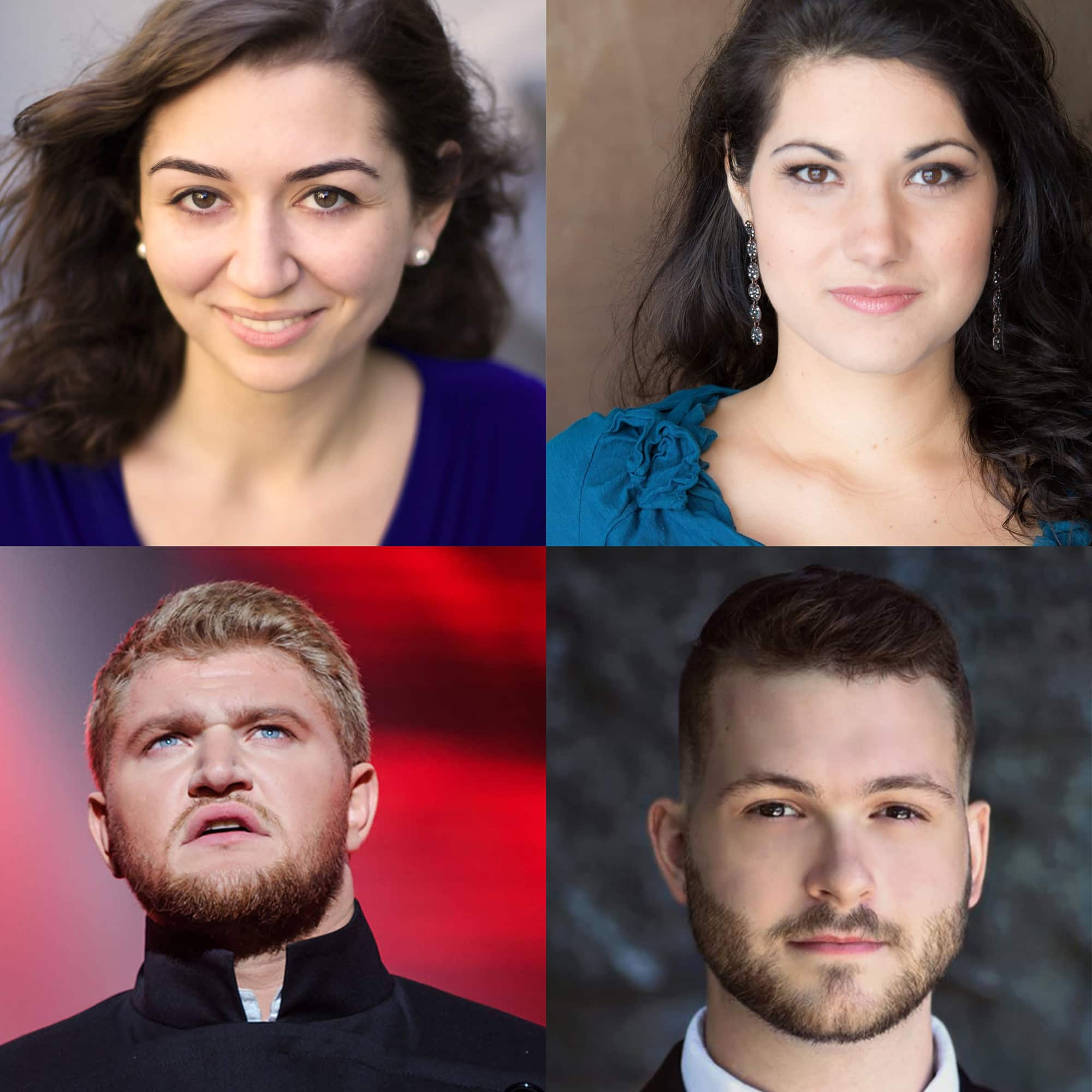 """Headshots of all the soloists of """"A Night at the Opera"""""""