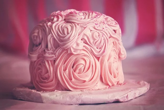 Stock photo of a cake.